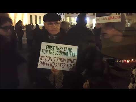 Candles4Assange Berlin 13.11.2019 #FreeAssange #FreeManning Jeden Mittwoch!