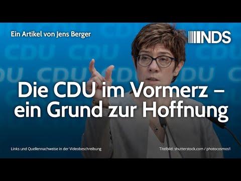 Die CDU im Vormerz – ein Grund zur Hoffnung | Jens Berger | NachDenkSeiten-Podcast | 10.02.2020