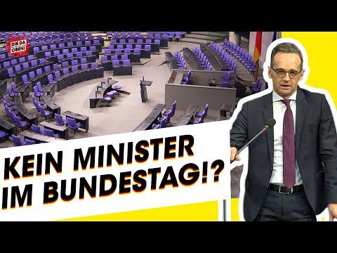 Bundestag-Eklat: Kein Minister im Parlament!