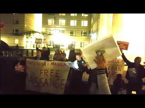 #Candles4Assange / Initiator in Berlin, Patrick Bradatsch #FreeAssange