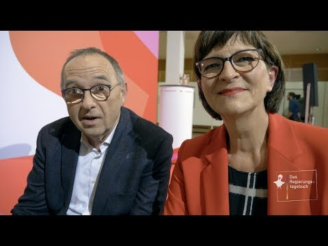 Regierungstagebuch #161 mit den neuen SPD-Parteivorsitzenden Saskia Esken & Norbert Walter-Borjans