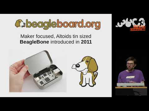 36C3 - Linux on Open Source Hardware with Open Source chip design