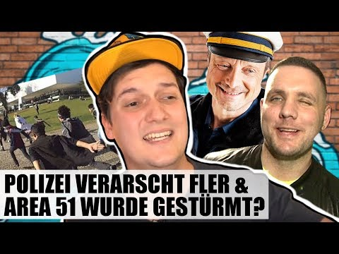 Berliner Polizei disst Rapper Fler, Fridays for Hubraum & Der Area 51 Raid   #LeNews
