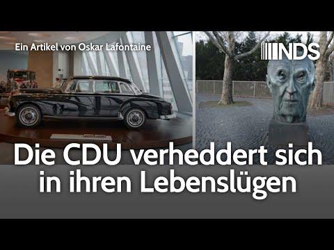 Die CDU verheddert sich in ihren Lebenslügen   Oskar Lafontaine   NachDenkSeiten-Podcast   11.02.20