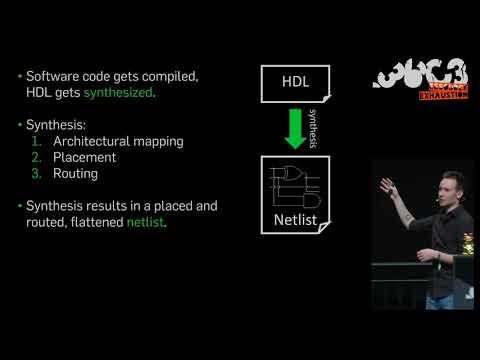 36C3 - HAL - The Open-Source Hardware Analyzer - deutsche Übersetzung