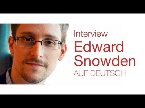 Edward Snowden Interview - Der Tiefe Staat & wie Einzelpersonen etwas verändern können