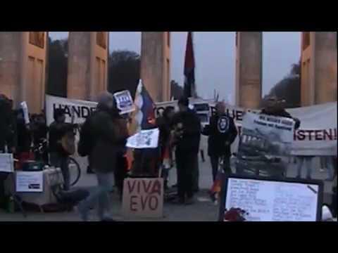 Nuemmes - Internationale Solidarität! #Berlin 23.11.2019 Solidaridad con Evo Morales