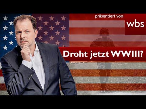 Eskalation im USA/Iran-Konflikt: Ist schon Krieg?   Rechtsanwalt Christian Solmecke