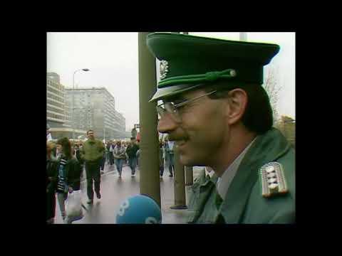 Berliner Abendschau - 04.11.89 - Filmbericht über die Massendemonstration in Ostberlin