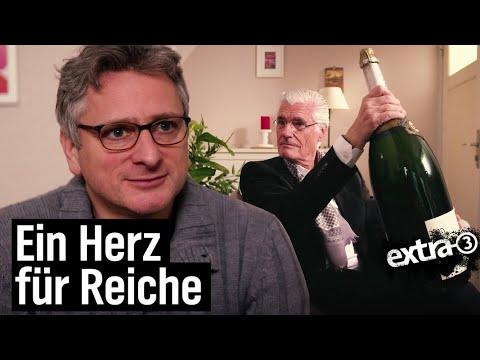 Johannes Schlüter: Ein Herz für Reiche | extra 3 | NDR