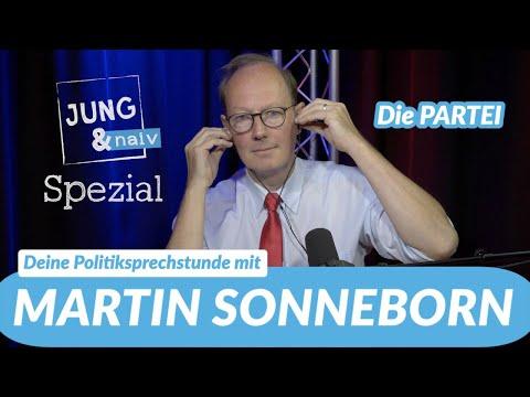 Deine Politiksprechstunde mit Martin Sonneborn (Die PARTEI)   Jung & Naiv - Spezial