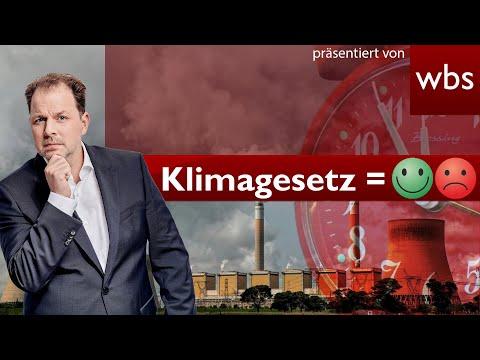 #Klimaschutzgesetz abgeschwächt? DAS gilt wirklich! | Rechtsanwalt Christian Solmecke