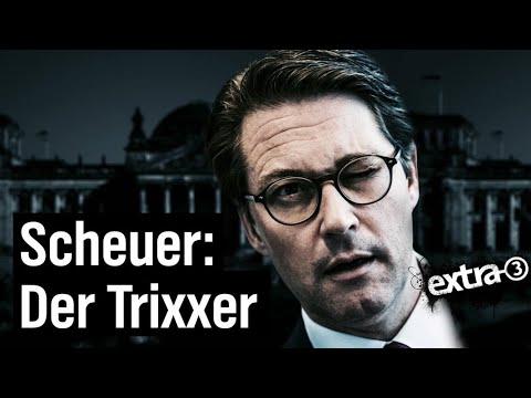 Andreas Scheuer - Der Trixxer | extra 3 | NDR