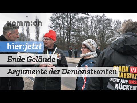 """Ende Gelände: Argumente der Gegendemonstranten. Marcus Staiger spricht mit """"Blackout Lausitz"""""""