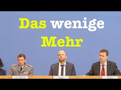 10. Januar 2020 - Bundespressekonferenz | RegPK