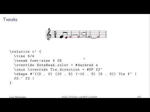 36C3 Wikipaka WG: LilyPond: programming beautiful musical scores