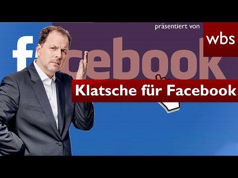Klatsche für Facebook: Netzwerk muss Beleidigung filtern   Rechtsanwalt Christian Solmecke