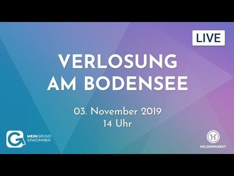 Verlosung am Bodensee – wir verlosen 10 Grundeinkommen!