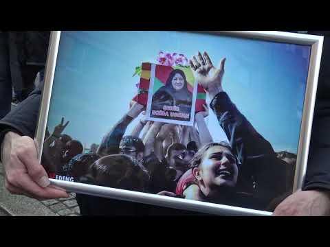 "Proteste ""Stoppt den Krieg in Rojava"" 2.11.2019 Berlin"