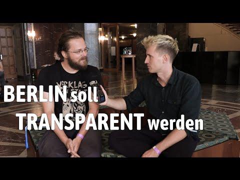 Berlin soll zur Transparenz-Hauptstadt werden