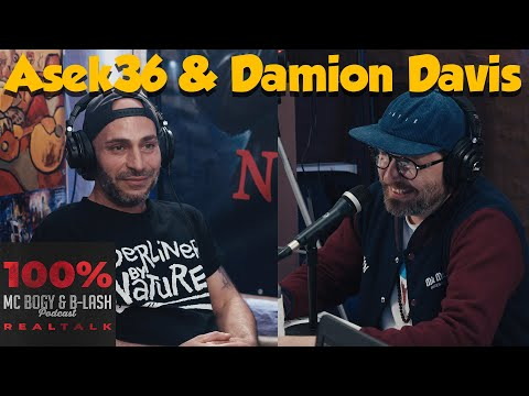 100% Realtalk Podcast #78   Asek36 & Damion Davis   Kaosloge   Ben Salomo   KenFM   Demo Shitstorm
