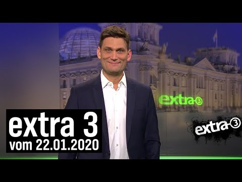Extra 3 vom 22.01.2020 mit Christian Ehring | extra 3 | NDR