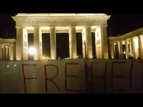 9. Oktober 2019 #Berlin #FreeAssange Mahnwache #Candles4Assange