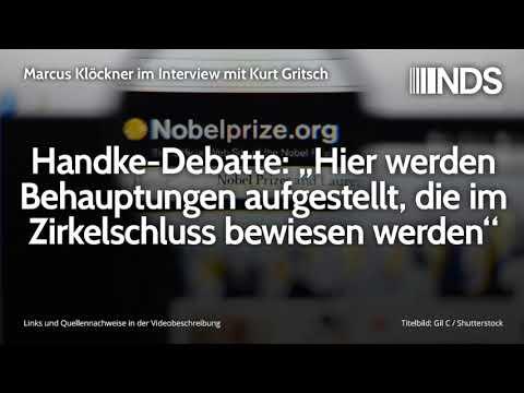"""Handke-Debatte: """"Hier werden Behauptungen aufgestellt, die im Zirkelschluss bewiesen werden"""""""