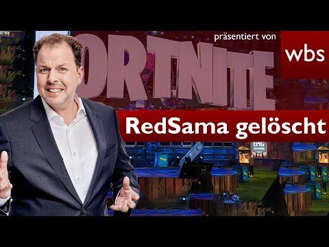 #RedSama: #ApoRed #Fortnite-Kanal gelöscht! Und jetzt? | Rechtsanwalt Christian Solmecke