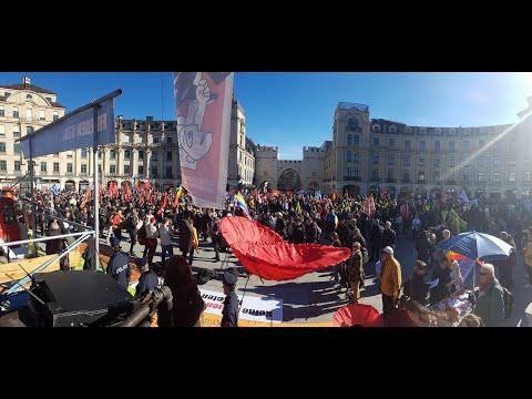 Antikriegs-Aktivismus & Demonstration gegen die Münchner Sicherheitskonferenz | Franz Haslbeck