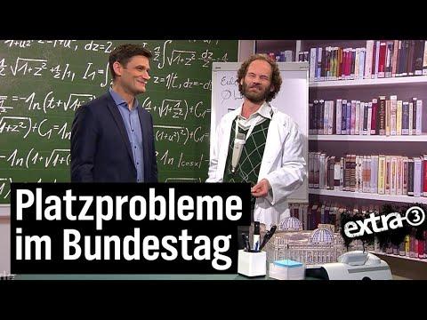 Bundestag wird immer größer   extra 3   NDR