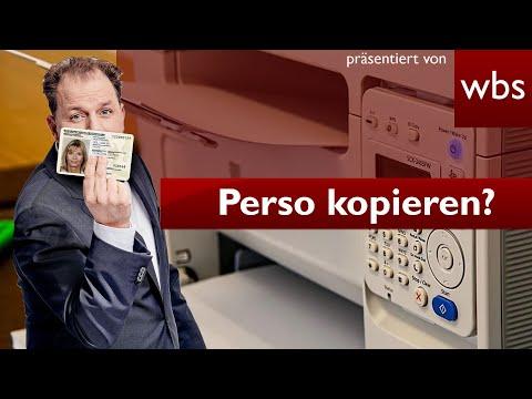 Darf ich den Ausweis kopieren / verpfänden? | Rechtsanwalt Christian Solmecke