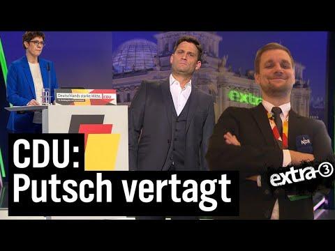 CDU-Parteitag: Eine schrecklich nette Familie | extra 3 | NDR