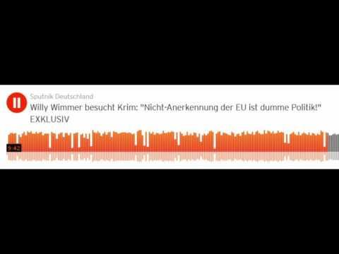 Willy Wimmer besucht Krim: Wir wollen Frieden mit Russland! Nie wieder Krieg!