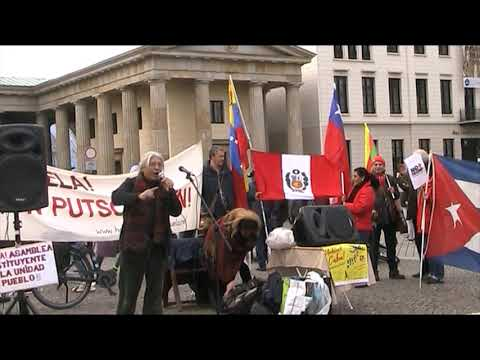#Berlin Noviembre 2 – Solidaridad International: Venezuela/Cuba/Chile/Bolivia/Nicaragua/Peru...