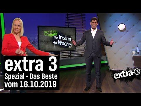 Extra 3 Spezial: Das Beste (der vergangenen Monate) vom 16.10.2019 | extra 3 | NDR