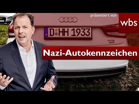 HH 1933 - Nazi-Autokennzeichen erlaubt? | Rechtsanwalt Christian Solmecke