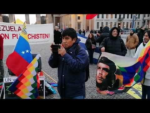 Lucha Indigena Bolivia: Wiphala y Pachamama #Berlin Noviembre 17 / Solidaridad con América Latina
