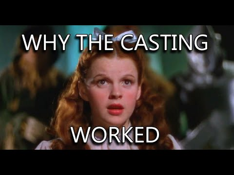 Judy Garland in THE WIZARD OF OZ - why the casting works