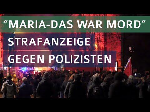 """Maria? Das War Mord! """"Entsichern""""-Demo gegen den Europäischen Polizeikongress, 31.01.20"""