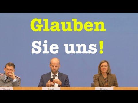 11. Oktober 2019 - Sehenswerte Bundespressekonferenz | RegPK