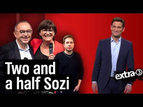 Zwei neue SPD-Vorsitzende - 100 Fragen | extra 3 | NDR