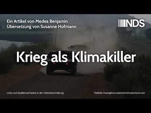 Krieg als Klimakiller | Medea Benjamin (CODEPINK) | NachDenkSeiten-Podcast | 08.10.2019