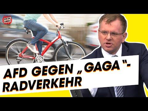 AfD-Politiker: Fahrradfahren ist gefährlich und unpraktisch!