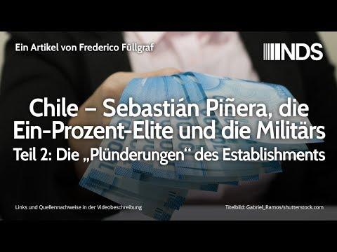 Chile – Sebastián Piñera, die Ein-Prozent-Elite und die Militärs – Teil 2 | F. Füllgraf | 05.12.2019