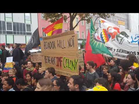 Berlin: Antikoloniale Demo am Hermannplatz 12.10.2019