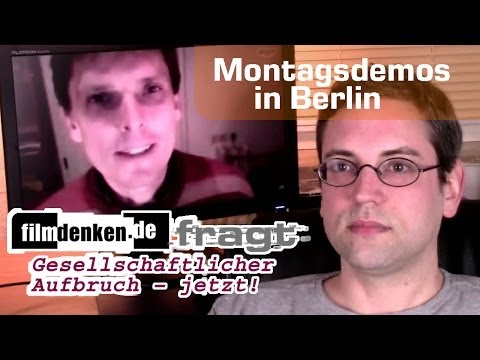 Montagsdemos in Berlin: filmdenken fragt Ingo Bading (Interview 18.04.2014)