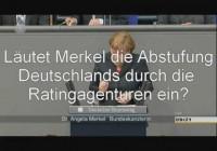 Will Merkel, dass Deutschland abgestuft wird? (PolitikProfiler 15.06.2012)