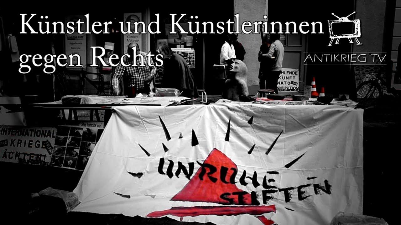 Berliner KünstlerInnen gegen Kriegshetze, Destabilisierung u. Propaganda ll Unruhe stiften 23.8.