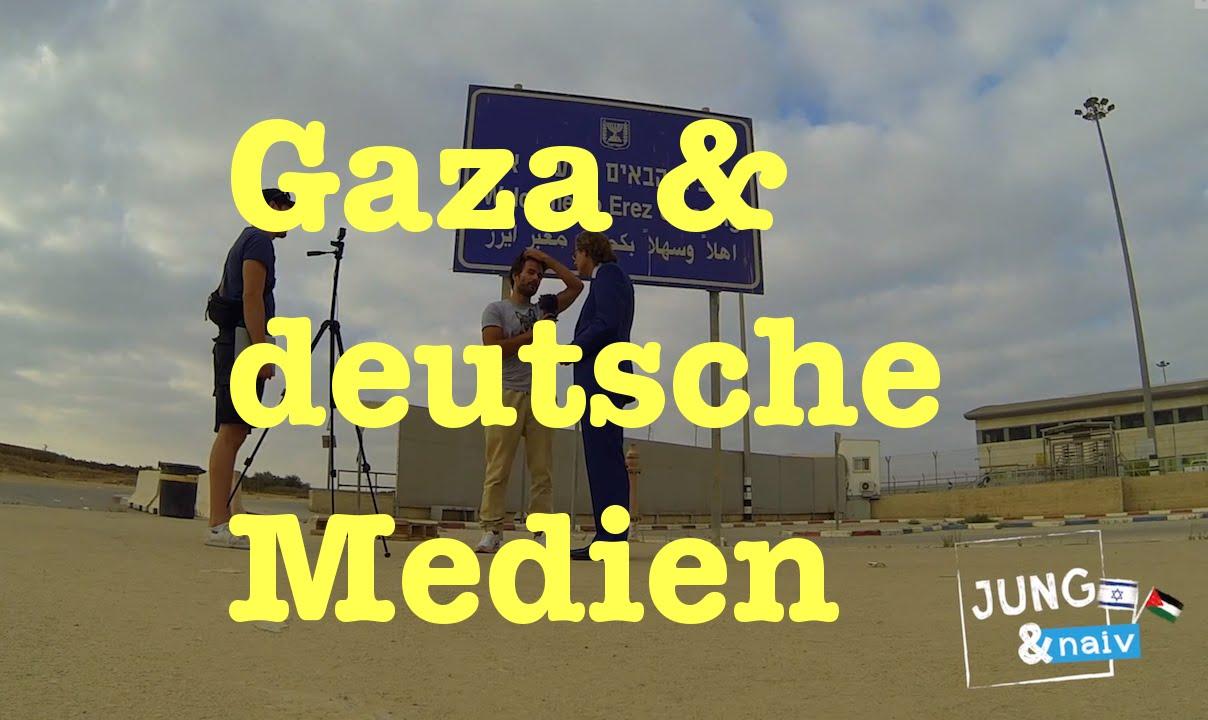 Bomben auf Gaza: Ohne deutsche Medien – Jung & Naiv in Israel: Folge 192